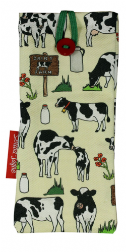Selina-Jayne Cows Limited Edition Designer Soft Glasses Case